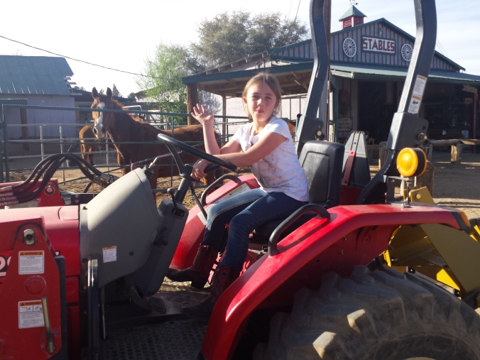 Sahe tractor